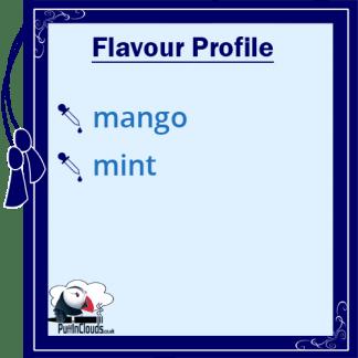 Atomic Mango Mint Shake n Vape E-Liquid (50ml 0mg) | Puffin Clouds UK