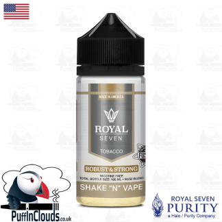 Royal Seven Robust & Strong Tobacco Shake n Vape E-Liquid (50ml 0mg) | Puffin Clouds UK