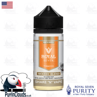 Royal Seven Woodsy Blend Tobacco Shake n Vape E-Liquid (50ml 0mg)   Puffin Clouds UK