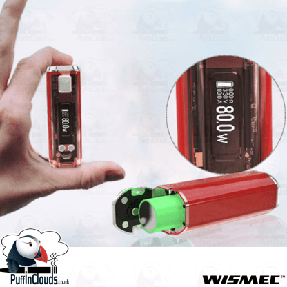 Wismec Sinuous V80 Kit | Puffin Clouds UK