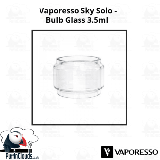 Vaporesso Sky Solo Bulb Glass (3.5ml) | Puffin Clouds UK