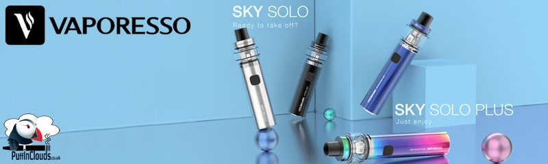 Vaporesso Sky Solo | Puffin Clouds UK