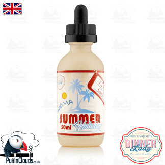 Dinner Lady Flip Flop Lychee E-Liquid (50ml 0mg) | Puffin Clouds UK