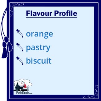 Dinner Lady Orange Tart E-Liquid (50ml 0mg) | Puffin Clouds UK
