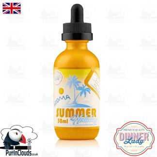 Dinner Lady Sun Tan Mango E-Liquid (50ml 0mg) | Puffin Clouds UK