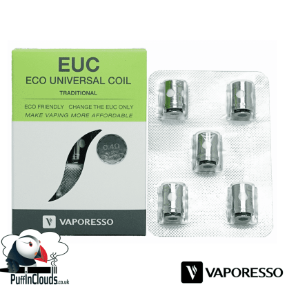 Vaporesso EUC Traditional Coils (5 Pack) | Puffin Clouds UK