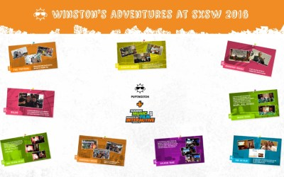 Winston's Adventures at SXSW 2016: Prezi Highlights