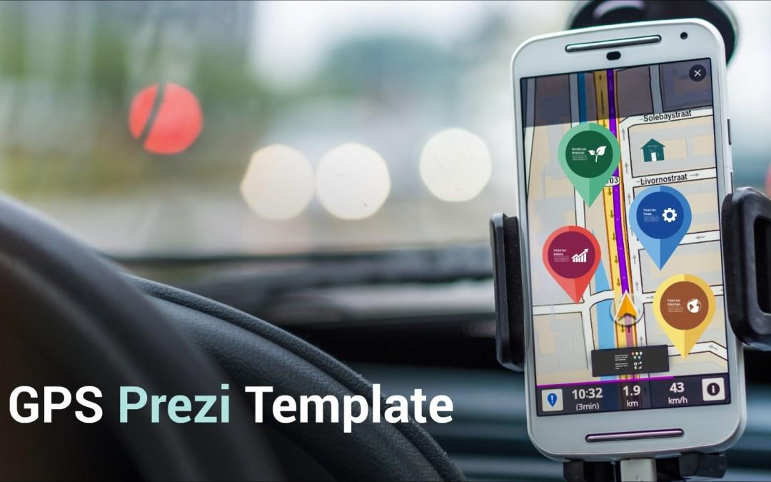 Free Prezi Templates Cell Phone Gps Themed Prezi Presentations