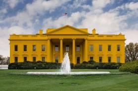 White House is the new orange.