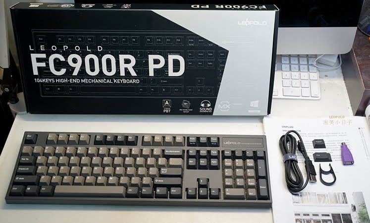 leopold fc900r pd 盒裝內容