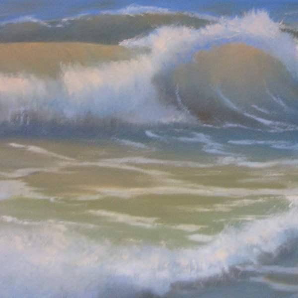 Картина прозрачная волна 2