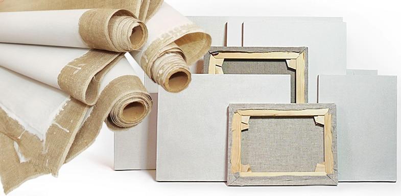 Как выбрать холст для масляной живописи