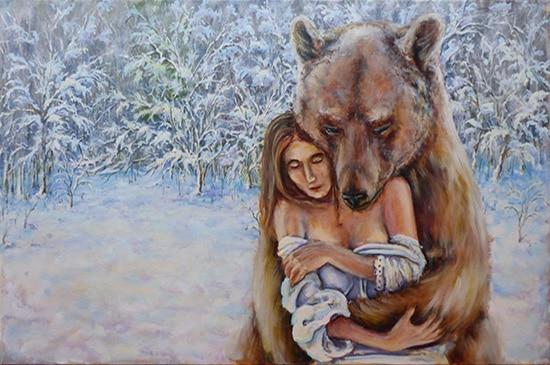 медведь поэтапно 13