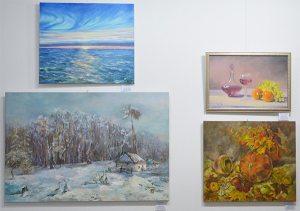 рождественская выставка картин