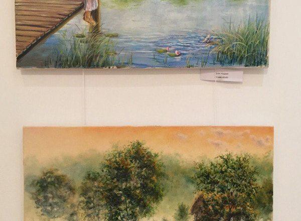 Картины художника Пугача Андрея на выставке