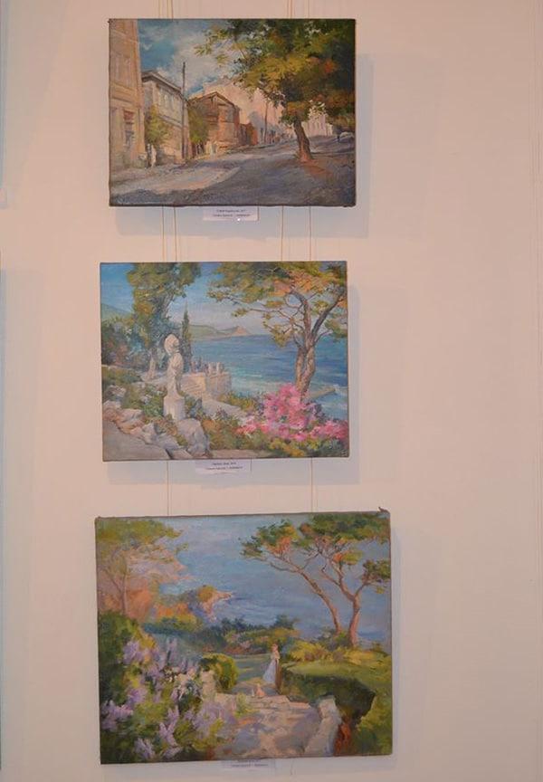 выставка картин в доме художника_