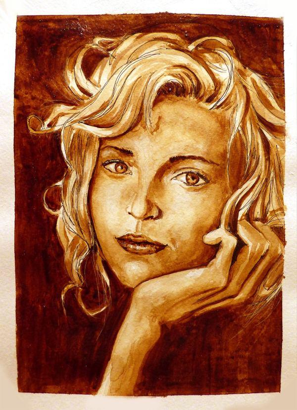 Кофейный портрет