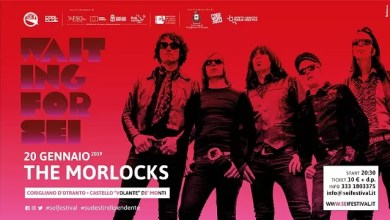 "Photo of [Music Live] Waiting for SEI 2019 – THE MORLOCKS in concerto @ ""Castello Volante"" Corigliano d'Otranto (LE) – 20 gennaio 2019"