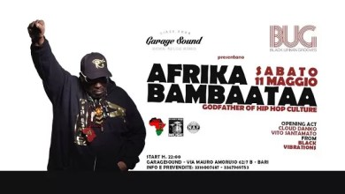 "Photo of [Music Live] AFRIKA BAMBAATAA live @ ""Garage Sound"" Bari – 11 maggio 2019"