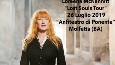 """Photo of [Music Live] LOREENA McKENNITT """"Lost Souls tour live"""" @ """"Anfiteatro di Ponente""""  Molfetta (BA) – 26 luglio 2019"""