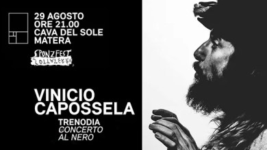 "Photo of [Music Live] VINICIO CAPOSSELA ""Trenodia Concerto al nero"" @ ""Cava del sole"" Matera  – 29 agosto 2019"