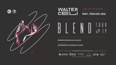 "Photo of [Music Live] WALTER CELI ""Blend"" Release Party @ ""MAT"" Terlizzi – 19 ottobre 2019"