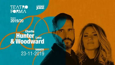 "Photo of [Music Live] CHARLIE HUNTER & LUCY WOODWARD live @ ""Teatro Forma"" BARI – 23 novembre 2019"