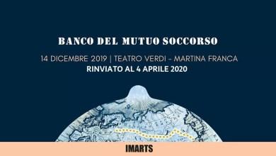 """Photo of [Music Live] BANCO DEL MUTUO SOCCORSO """"Transiberiana..Il Viaggio Continua"""" @ """"Teatro Verdi""""  Martina Franca – RINVIATO AL 4 aprile 2020"""