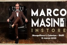 "Photo of MARCO MASINI+1, 30th Anniversary – INSTORE @ ""Molgolfiera S. Caterina""  BARI – 15 marzo 2020"