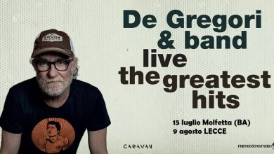 "Photo of FRANCESCO DE GREGORI & BAND LIVE ""The Greatest Hits"" @  15 luglio Molfetta (BA) –  9 agosto LECCE"