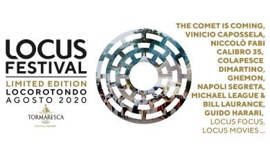Photo of Ecco il nuovo LOCUS FESTIVAL 2020 LIMITED EDITION! concerti, mostre,incontri e cinemaper la sedicesima edizione, nel cuore della puglia dal 7 al 15 agosto.