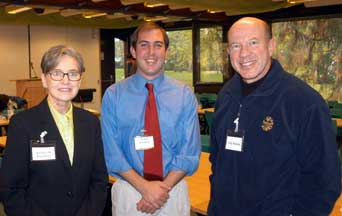 Barbara Hatch Rosenberg (FAS), Nelson Erickson (DOD), and Guy Roberts (DOD)