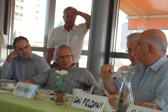 Roland Frederich, Aharon Zohar, Yossi Alpher, Sverre Lodgaard, Shai Feldman