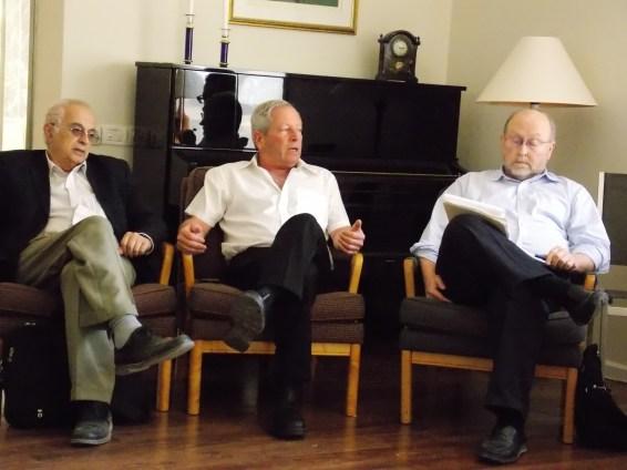 David Menashri, Aharon Zohar, Steve Miller