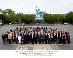 The Pugwash Conference at the Nagasaki Peace Park