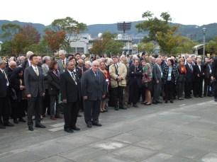 Pugwash Ceremony at the Peace Statue