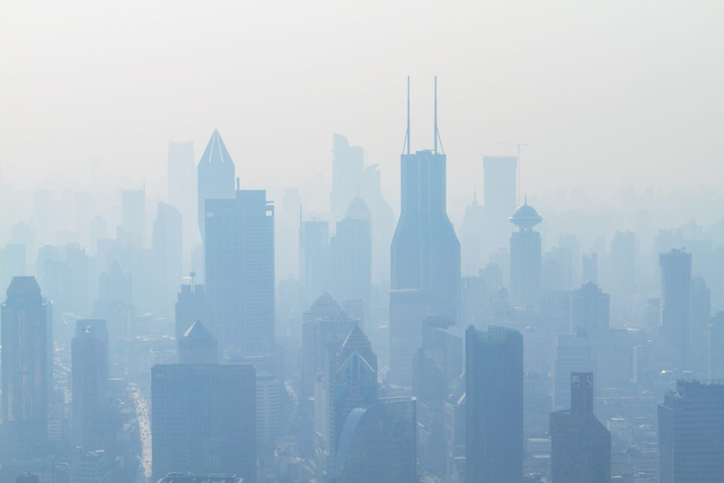 air pollution and face masks