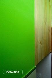 szafa we wnęce zlicowana ze ścianą