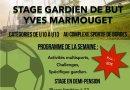 Stage – Vivez 5 jours 100% gardien de but avec le FC BORDES