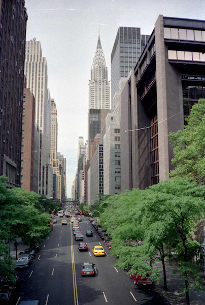 42nd Street en Chrysler Building
