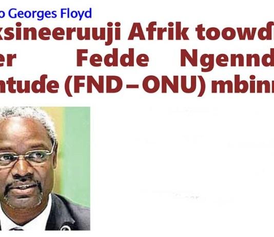 Ɓataake foksineeruuji fedde ngenndiije dentuɗe wonande Georges Floyd