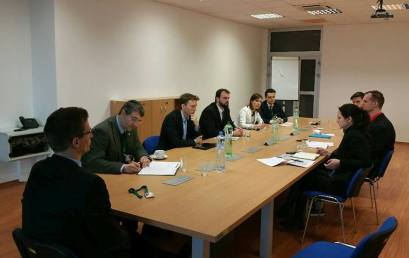 V4 goes Cyber – the representatives of the Casimir Pulaski Foundation on a study visit concerning the cybersecurity of Slovakia