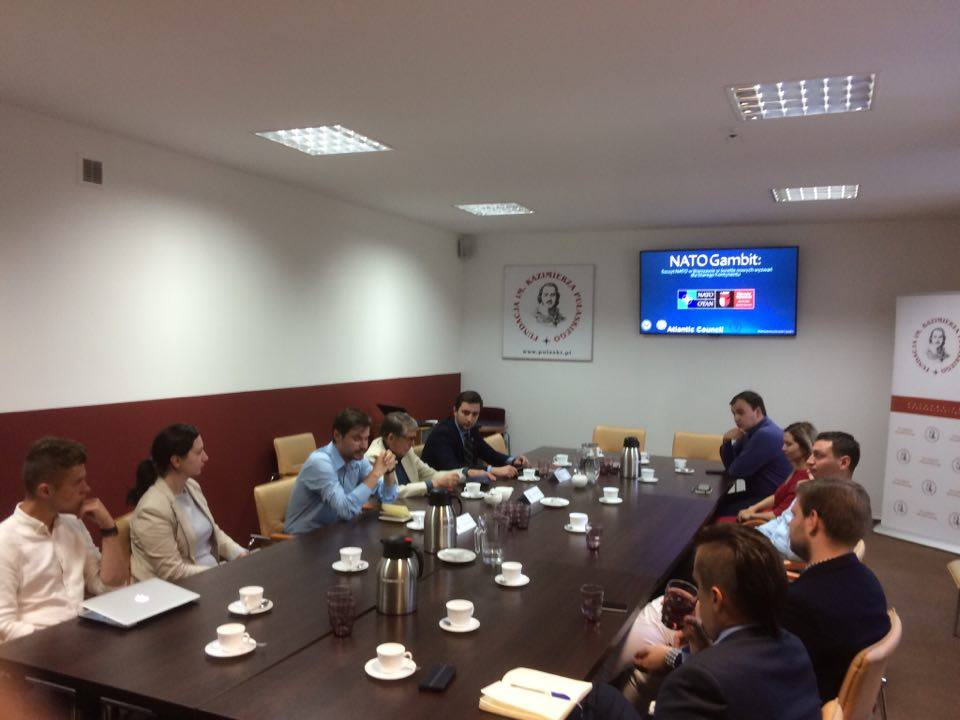 Young experts discussed Warsaw NATO Summit in Casimir Pulaski Foundation