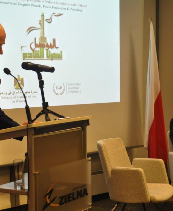 """Minister Spraw Zagranicznych Republiki Iraku wPolsce: """"Irak potrzebuje inwestycji zagranicznych. Myślę, żetodobra okazja dla Polski""""."""