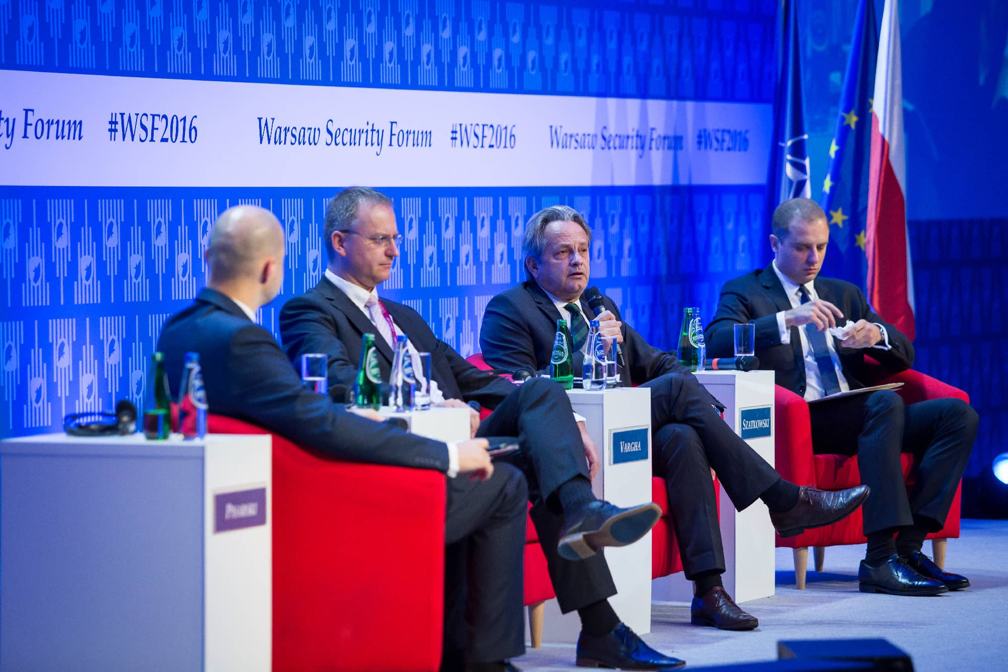 """""""We want the NATO to adapt toward 360° approach"""" – ministers of defence and of foreign affairs about the NATO and international security during the Warsaw Security Forum."""