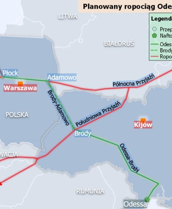 ENERGETYKA24 | Dyrektor strategii Naftogazu: rozmawialiśmy zministrem Naimskim oOdessa-Brody