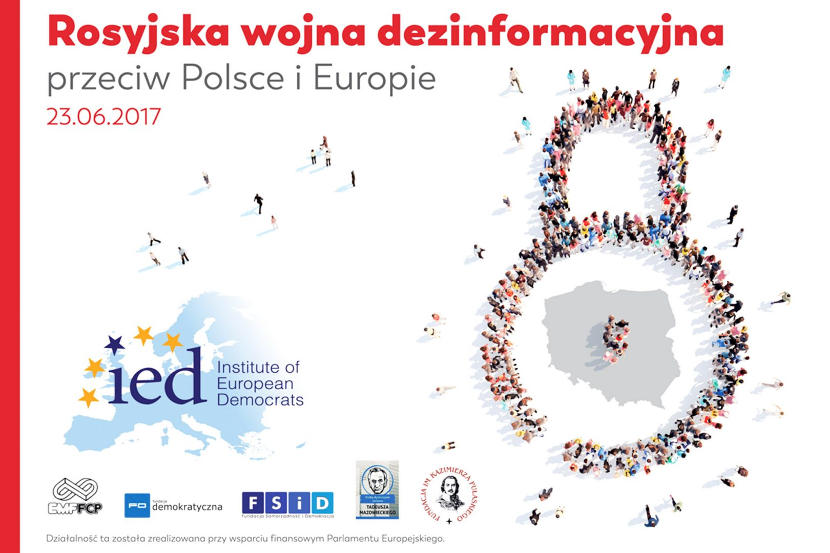 """Head of the Research Office at CPF Tomasz Smura to speak on conference """"Russian Disinformation War against Poland and Europe"""""""
