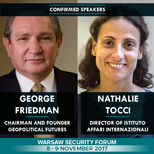 Warsaw Security Forum held on 8 – 9 November 2017 year. | # WSF2017