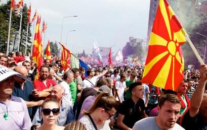 """POLSKIE RADIO   Ekspert FKP Łukasz Polinceusz: Macedonia"""" odsamego początku, odswojej niepodległości, chce być poprostu """"Macedonią"""". Natoniema zgody postronie Greków"""
