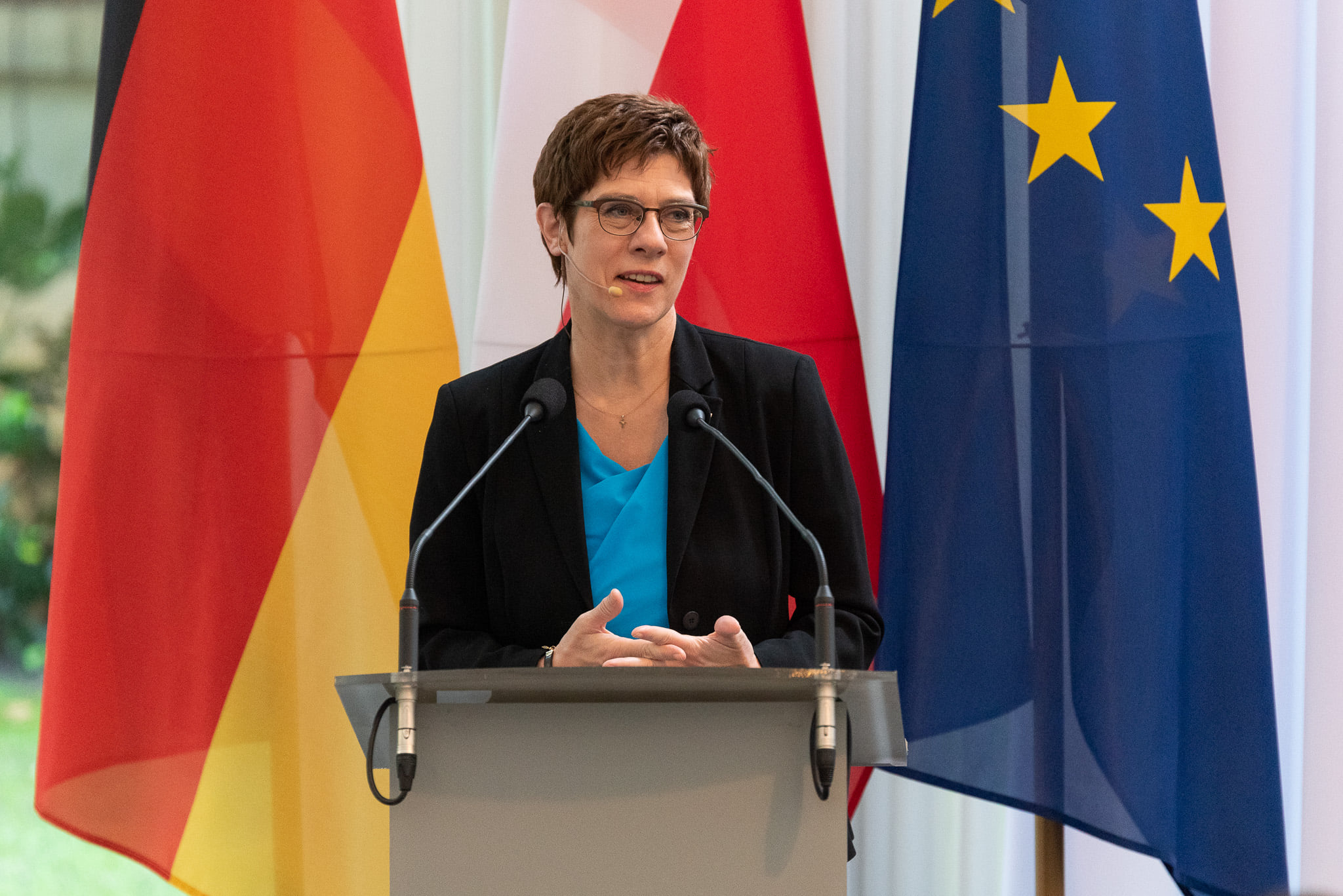 CPF hosted German MoD Annegret Kramp-Karrenbauer in Warsaw